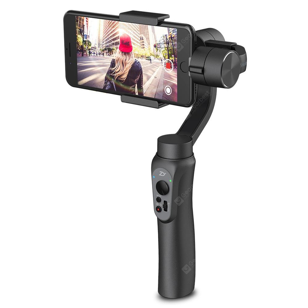 Zhiyun Smooth Q 3-axis Stabilization Gimbal - JET BLACK  (entrepôt EU-6)