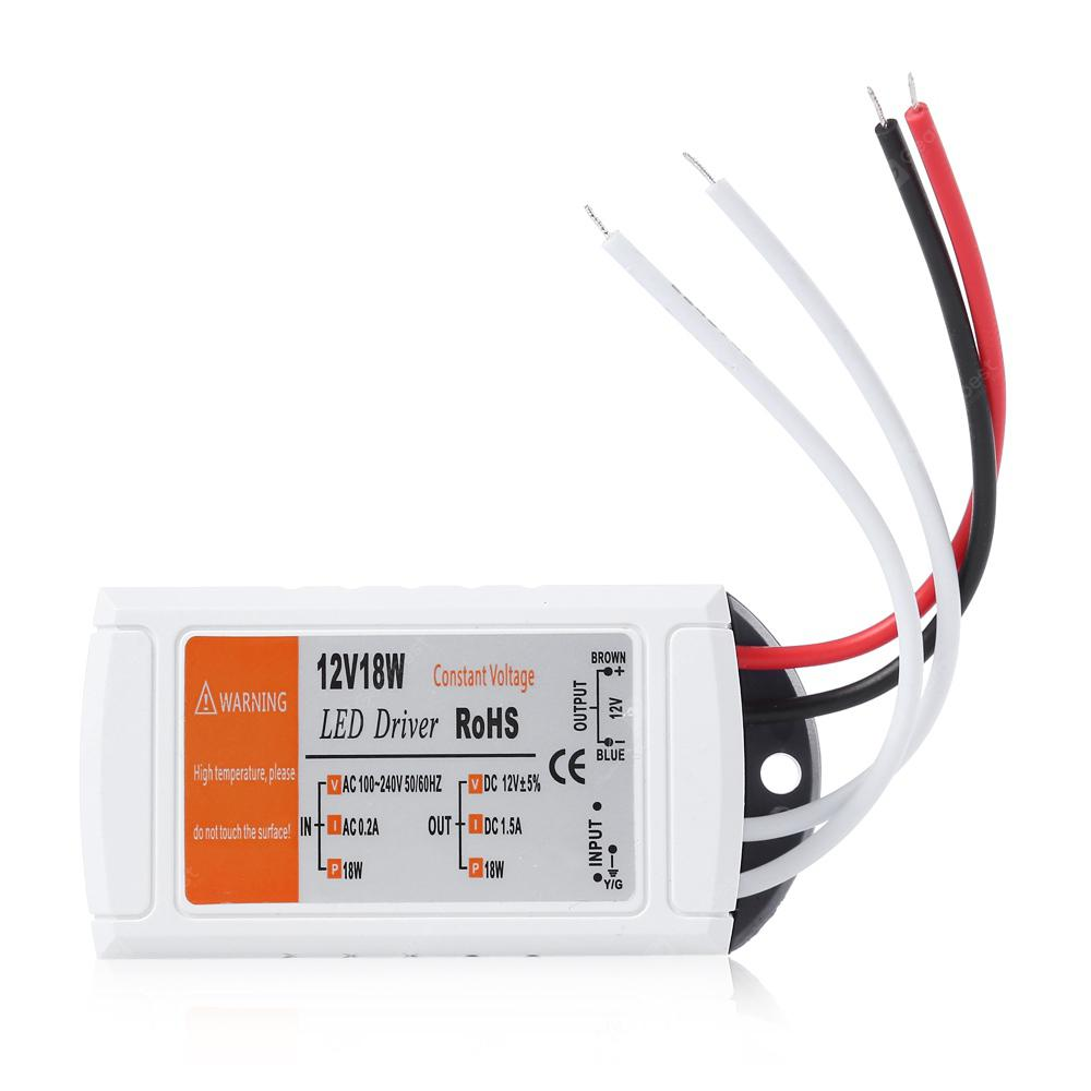 12v 18w Led Driver Transformer Power Supply For Bulbs Strip Completed 145 Watt Atx With Switch Binding Posts Copyright 2014 2019 All Rights Reserved