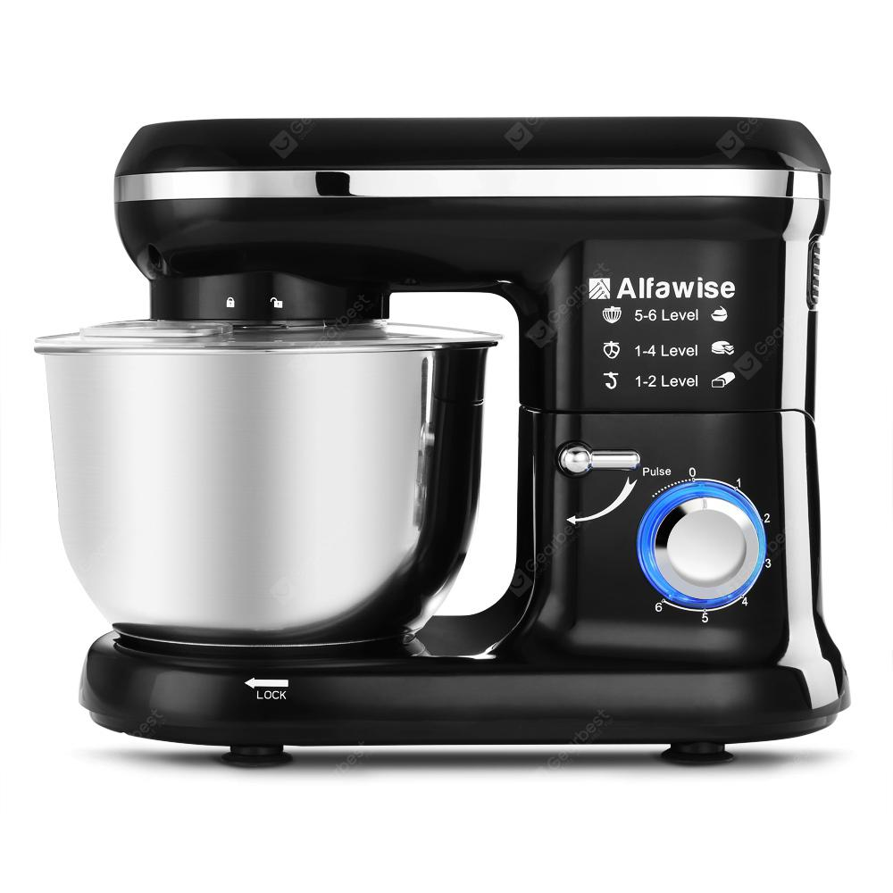 Alfawise SM001 4.5L 6-speed Dough Stand Mixer