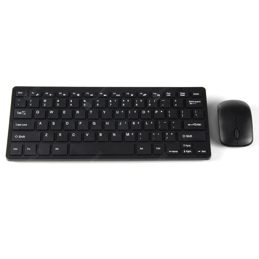 HK3800 2.4G Wireless Keyboard / Mouse Combo ABS Computer Peripheral | Gearbest