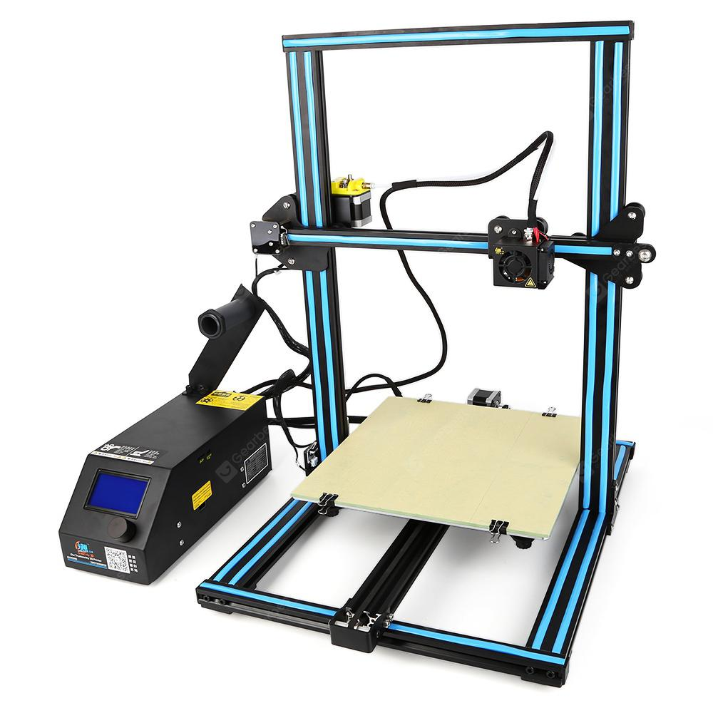 Creation3D CR - 10S 3D Printer - BLUE EU PLUG UPGRADE VERSIOON
