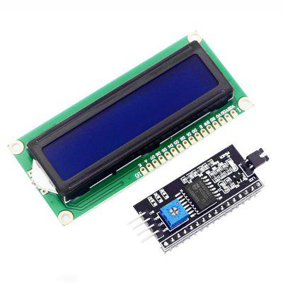 Practical IIC / I2C with 1602 Blue LCD Display Screen Board Module for Arduino