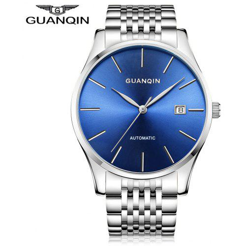 Men's Watches Mens Watches Fashion Blue Light Led Binary Watch Men Sports Digital Electronic Watches Stainless Steel Mesh Band Watch Be Friendly In Use