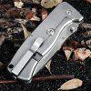GANZO G722 Frame Lock Folding Knife with Portable Pouch - COLORMIX
