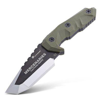 HX OUTDOORS D - 170 Fixed Blade Knife with G10 Sheath
