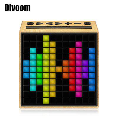 Refurbished Divoom Timebox Smart Portable Bluetooth LED Speaker