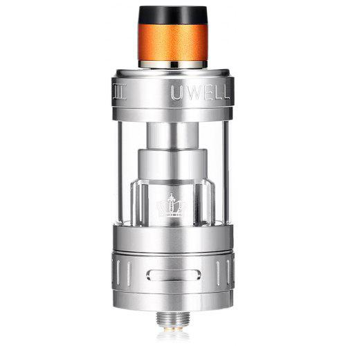 UWELL Crown 3 Sub Ohm Tank Clearomizer - Silver