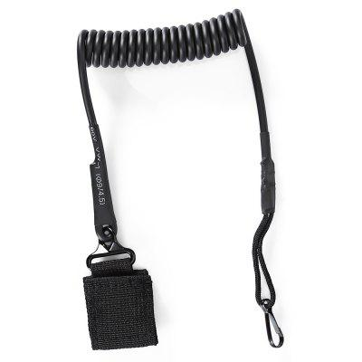 Refurbished Wear-resistant Anti-lost Lanyard Key Chain Spring Rope