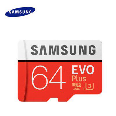 Original Samsung UHS-3 64GB Micro SDXC Memory Card samsung micro sd card 128gb 64gb 32gb 256gb 100mb s microsd memory card flash tf card for phone with mini class10 free shipping