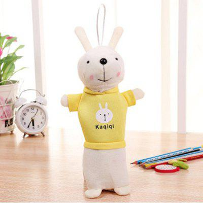 New Creative Lovely Rabbit Shape Pen Bag