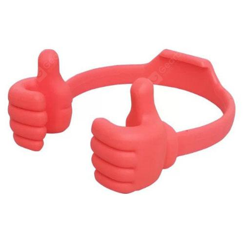 Universal Silicone Tablet Finger Stand Holder