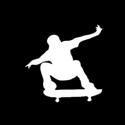 Stunt Silhouettes Vinyl Car Sticker