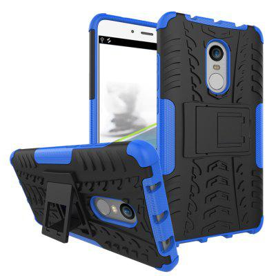 Luanke 3D Relief Stand Cover Case for Xiaomi Redmi Note 4