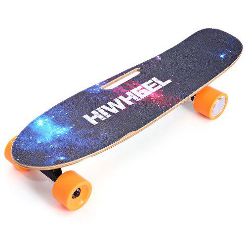 Remote Control Skateboard >> 7 5cm 4 Wheel Electric Skateboard Remote Control Slide Board