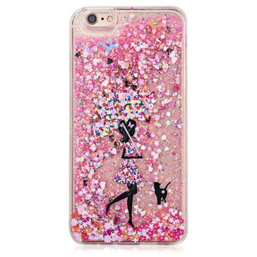 the latest e6cba b0d51 Fascinating Glitter Powder Girl Phone Cover for iPhone 6 Plus / 6S Plus
