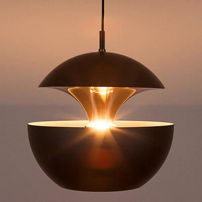 Nordic Aluminum Single Head Mushroom Chandelier 220V светодиодная лампа oem corn lamps ac220v 3w 5w 7w 12w 15w 18w 20w 25 e14 5730 24 36 48 56 69 72leds