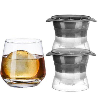 Gray Spherical Ice Cube Mould 1pc