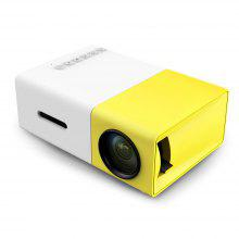 YG - 300 LCD Projector 320 x 240 Home Media Player from Gearbest