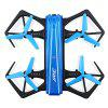 JJRC H43WH Mini Foldable RC Selfie Drone - BNF - BLUE