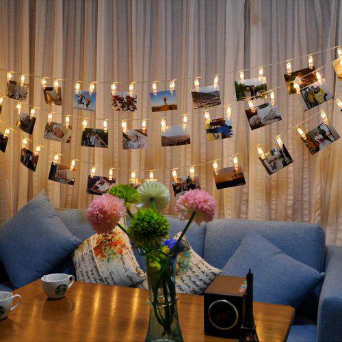 Brelong Led Photo Clip String Light Battery Powered 342 Free