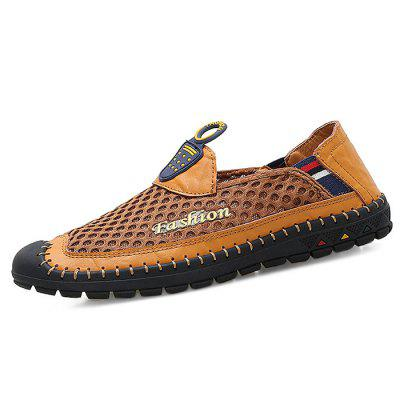 Men Leisure Breathable Slip-on Oxford Shoes