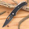 Sanrenmu GB4 - 783 Back Lock G10 Handle Folding Knife - BLACK