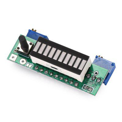 Lithium Battery Power Level LED Indicator Measuring Module