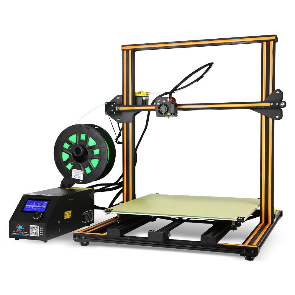 Creality3D CR - 10 Enlarged 3D DIY Desktop Printer Kit - COFFEE EU