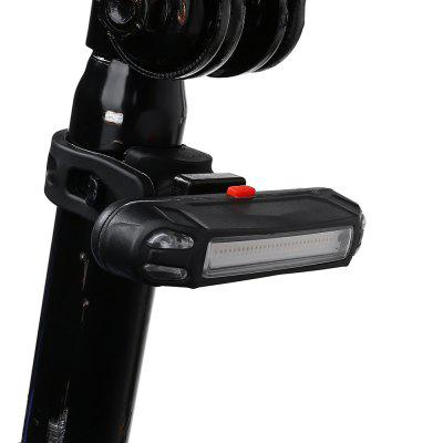 LEADBIKE LD15 Water-resistant USB Bicycle Bike Rear Tail Light