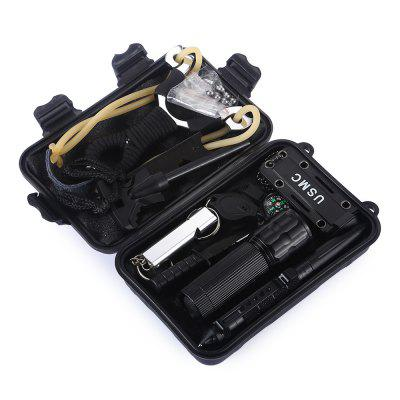 HakkaDeal 11 in 1 Multifunctional Survival Tool Kit