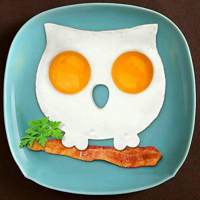DIHE Non-stick Owl Shaped Silicone Fried Egg Mold