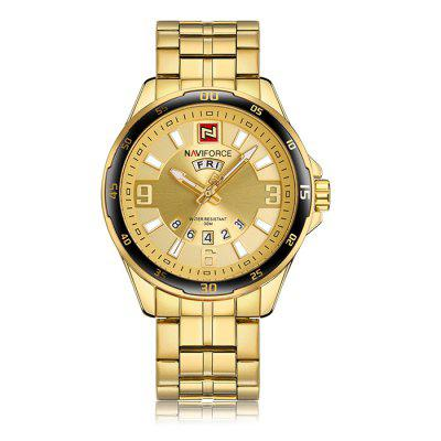 $17.8 per NAVIFORCE NF9106 Stainless Steel Band Men Watch