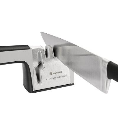 zanmini ZKS04 4 in 1 Knife Scissors Sharpener