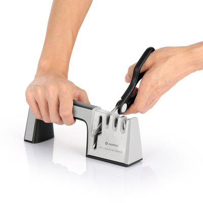 zanmini ZKS04 4-in-1 Messer Schere Sharpener