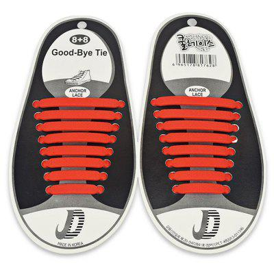 Multifunctional Outdoor Silicone Shoelaces