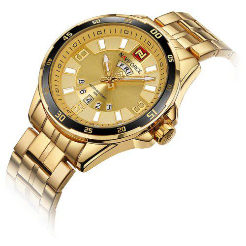 NAVIFORCE NF9106 Stainless Steel Band Men Watch