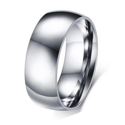 Titanium Steel Fashion Simple Ring