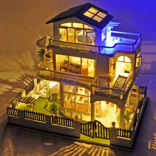 Diy Miniature Vancouver Style Dollhouse Set For Kids 98 38 Free
