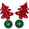Red Christmas Decoration Gift Christmas Tree - RED