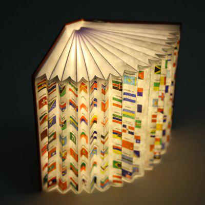 ZBOLE Creative Foldable Rechargeable Book Lamp