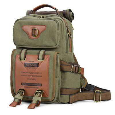 Kabden 7015 Canvas Leisure Shoulder Sling Bag Handbag