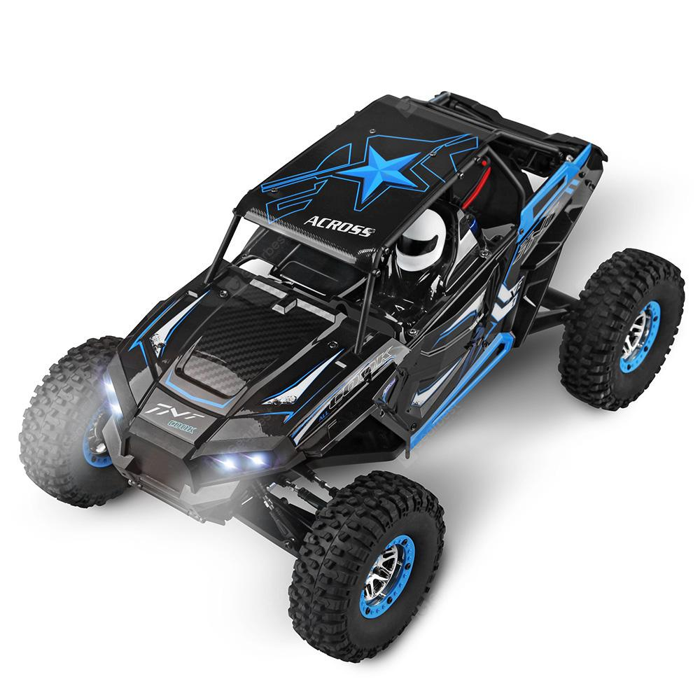 WLtoys 10428 - B 4WD 30km / h Scalata in Roccia RC Camion - RTR