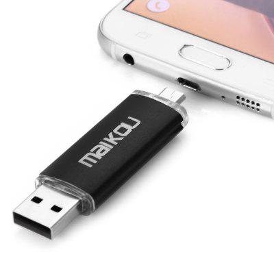 Maikou MK - 760 2 in 1 16GB OTG USB 2.0 Flash Drive