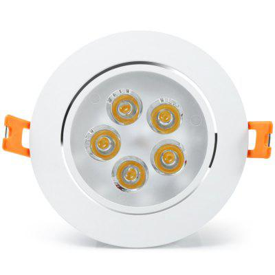 6PCS YouOKLight 450Lm 5W Luz de Teto LED
