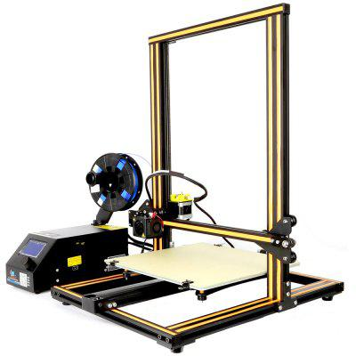 Creality3D CR - 10S 3D Printer - EU Plug Upgrade Version Coffee and Black