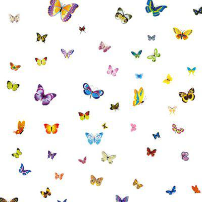 Cartoon Butterfly DIY Home Decor Wallpaper Wall Sticker