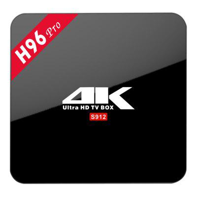 Refurbished H96 PRO Android TV Box Amlogic S912 Octa Core
