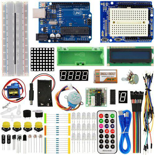 Gearbest LandaTianrui LDTR - Z1 UNO R3 Basic Starter Learning Kit - Colormix Upgrade Version for Arduino Beginner