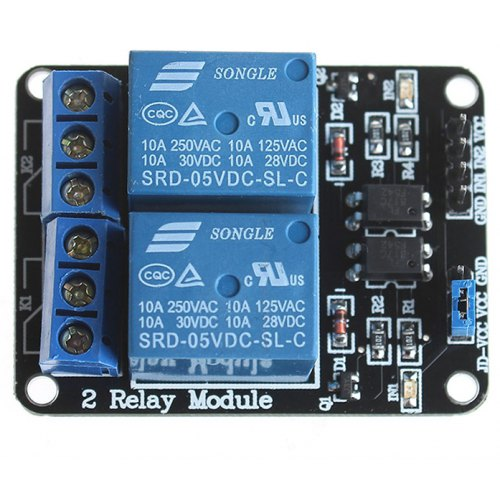 2 Channel 5V Relay Module for SCM Development / Home Appliance Control