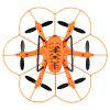 WLtoys Q383 - B Mini RC Hexacopter - RTF - BLACK AND ORANGE